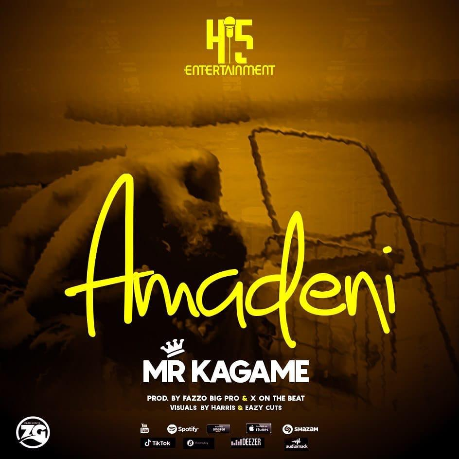Play Amadeni by Mr Kagame mp3,indirimbo, song on eachamps.rw