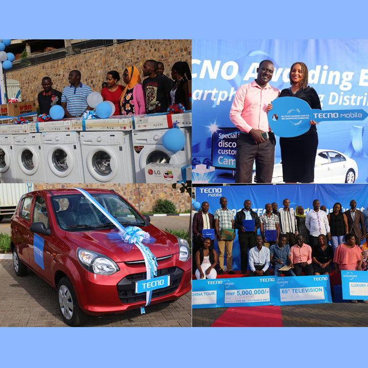 Mbabazi won a car while others scooped various prizes - see video and photos